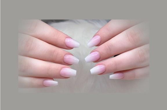 coffin shape nails short
