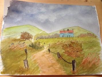 Finish painting.