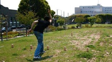 Easy DIY Kubb Game Set for Outdoor Fun