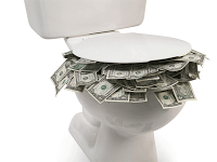 Convert a Toilet to a 2-Stage Flush for Free