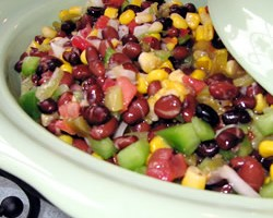 Texas Caviar with Black-Eyed Peas
