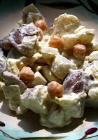 Red Potato Salad with Garbanzo Beans