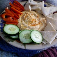 Ten Minute All-Star Hummus