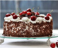 Black Forest Cake Have Nuts