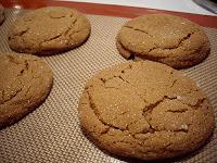 Big Soft Ginger Cookies: Comfort Food Extraordinaire!