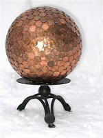 A Luxurious Copper Floor for Pennies and 7 Other Penny Decor Projects