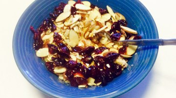 Honey Oat Yogurt with Fruit and Nuts: My Favorite Breakfast!