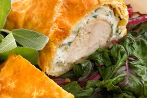 Beautiful Chicken In Puff Pastry