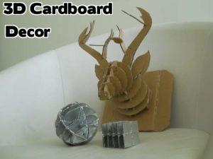 cardboard antelope