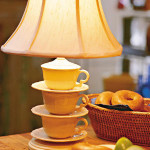 Coffee Cup Lamp Photo: Southern Living