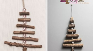 DIY Twig Trees: Great Christmas Crafts