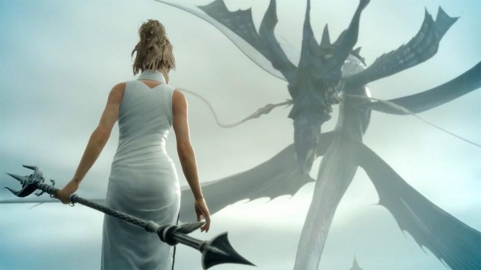 Lightning Returns Wallpaper Hd Luna Versus Leviathan In New Final Fantasy Xv Footage