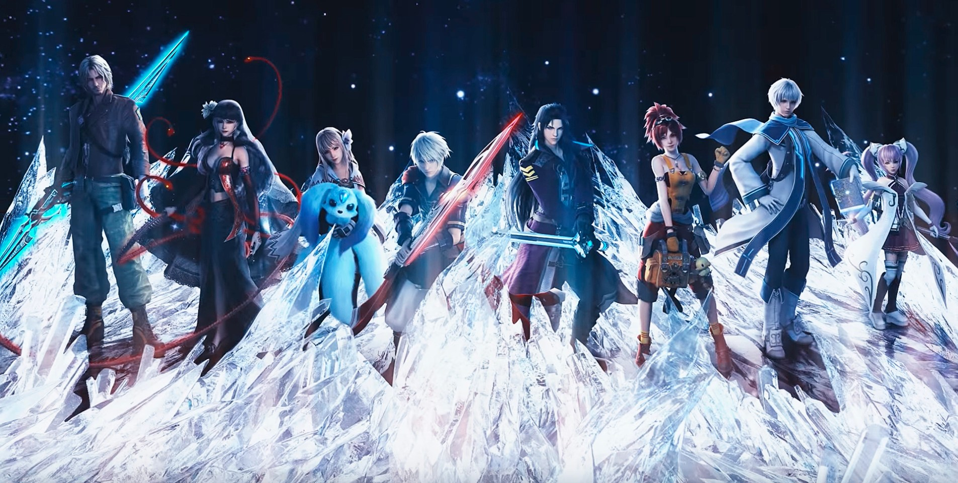 Lightning Returns Wallpaper Hd Brave Exvius Asks You To Touch It For A Final Fantasy