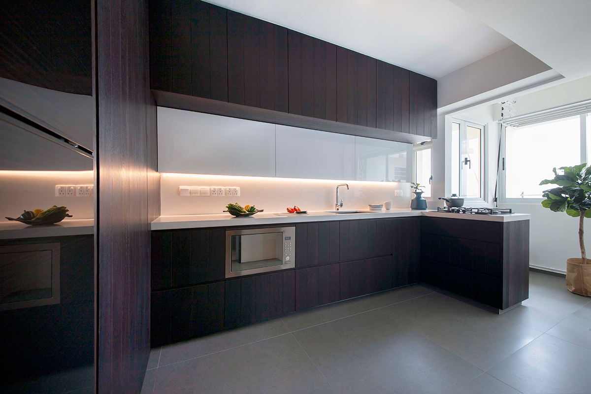 5 Contemporary HDB Kitchens With Warmth And Style