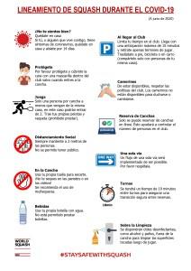COVID-19 Squash Guidelines