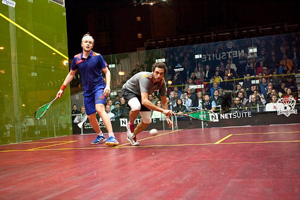 Ramy Ashour and James Willstrop