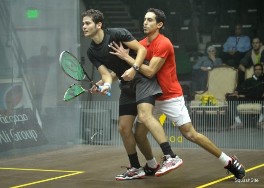 With squash failing to get into the Olympics, the Egyptian wrestling team get in some practice