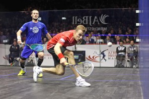 World champion Nick Matthew is seeded to meet up again with Gregory Gaultier