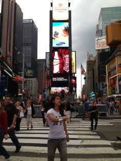 Making a racket: Nicol in NYC
