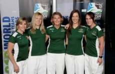 Michelle, Fitz and the Aussie world team champs