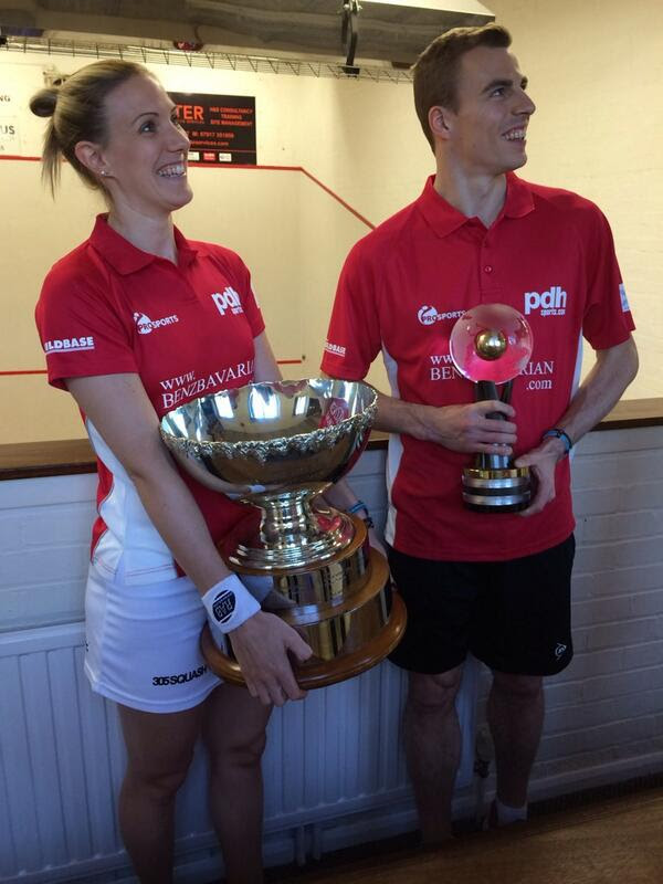 Two world champions turn out for Duffield