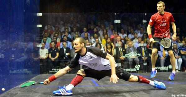 British Open champion Gregory Gaultier