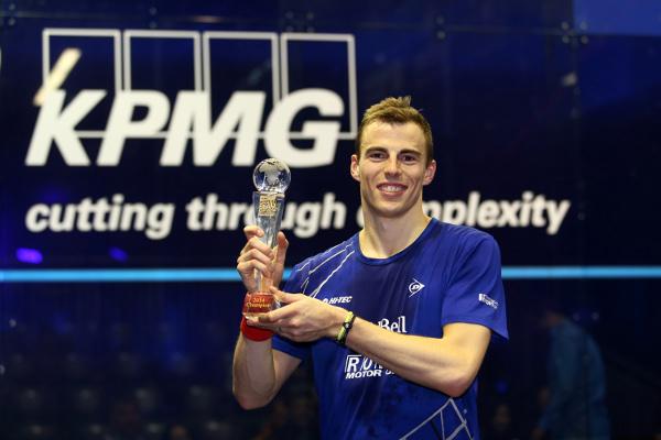 Frankfurt champion Nick Matthew