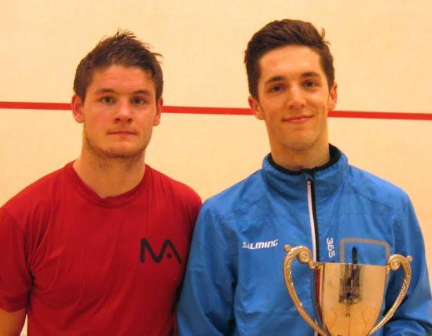 Smiling champion Ben Coleman