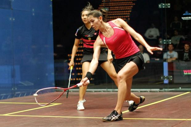 Joelle King in action