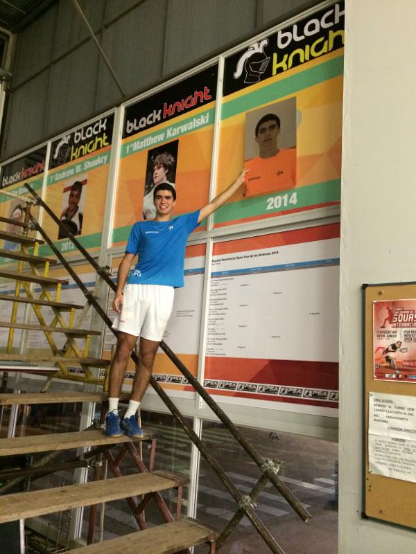 Champion Diego Elias
