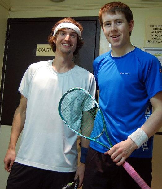 Nathan Lake and Jonathan Kemp