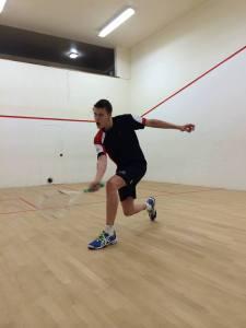 Alex Williams in action