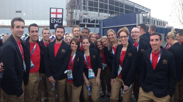 England get ready to enjoy the closing ceremony