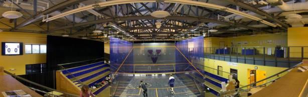 The amazing squash centre in Charlottesville