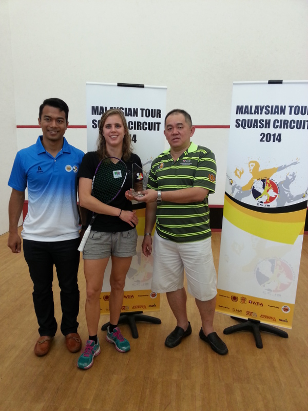 Lotte Eriksen is the Sarawak champion