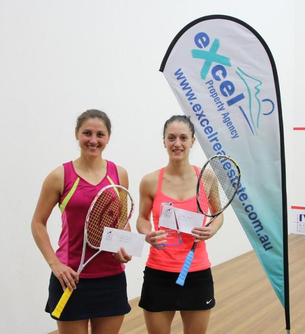 Celine Aumard (right and Lisa Camilleri