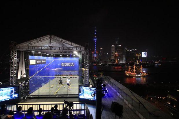The riverside court in Shanghai