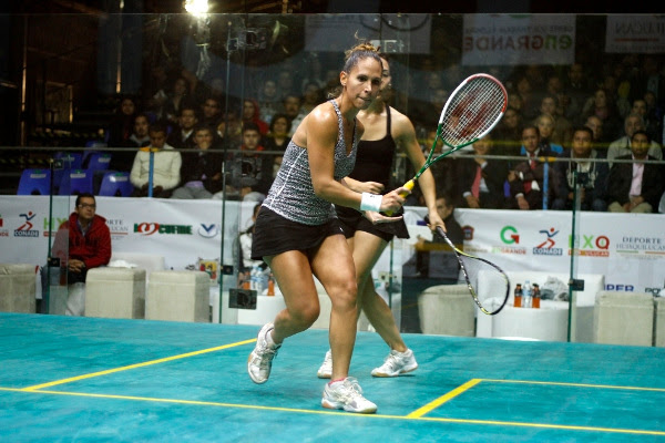 Samantha Teran in action in Mexico
