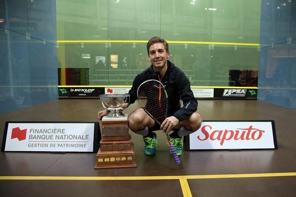 MAGNIFIQUE! Mathieu Castagnet celebrates his success in Montreal