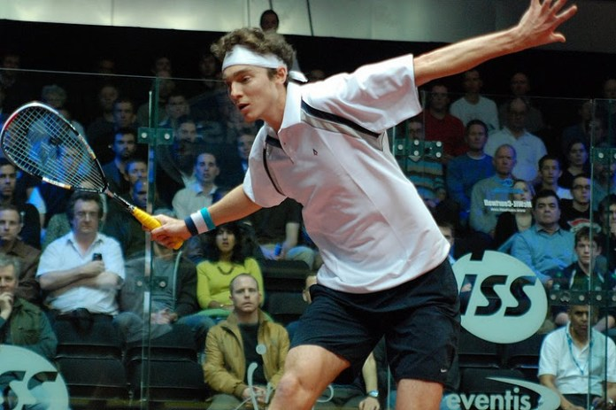 Cam Pilley is the hardest hitter in squash