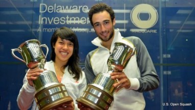 The US Open introduced equal prize money last year for champions Nicol David and Ramy Ashour