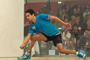 Tarek Momen in action in Edmonton
