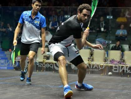 Ramy Ashour returns to action