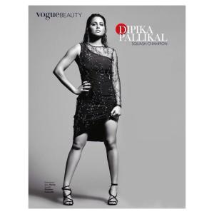Dipika on the cover of Vogue