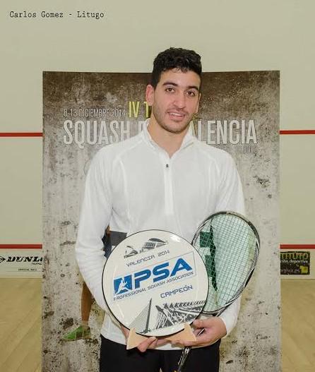 Valencia champion Andrew Wagih Shoukry