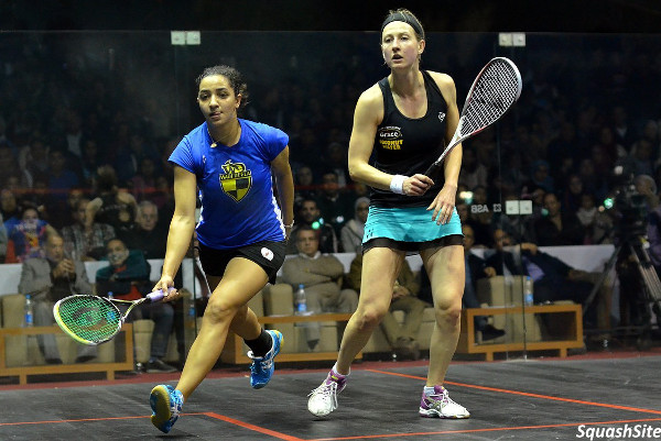 Raneem El Welily (left) and Alison Waters