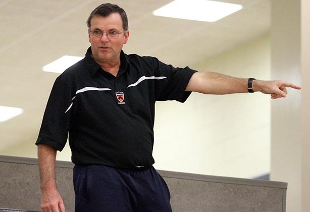 Leading coach Bob Callahan