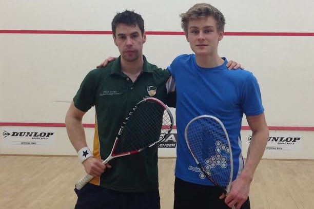Finalist Tom Ford (right) and Mark Fuller