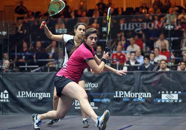 Nour El Sherbini beats fellow Egyptian Nour El Tayeb