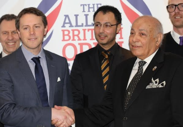Shake on it: Keir Worth and Assem Allam in Hull